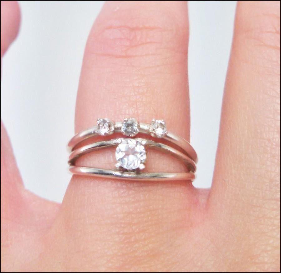 Argentium Silver Wedding Rings
