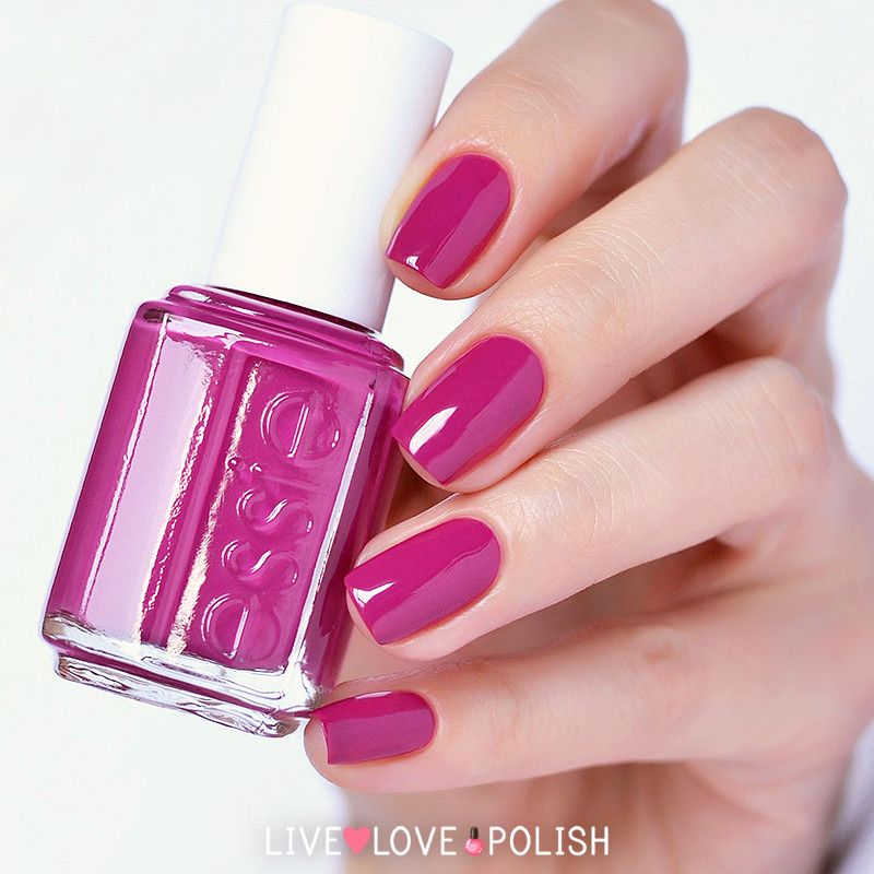 Essie \'Big Spender\' -- rich Bright Spring plum, especially once fall ...