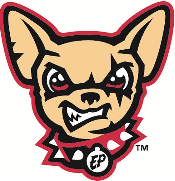 El Paso Chihuahuas Alternate Logo (2014) A chihuahua