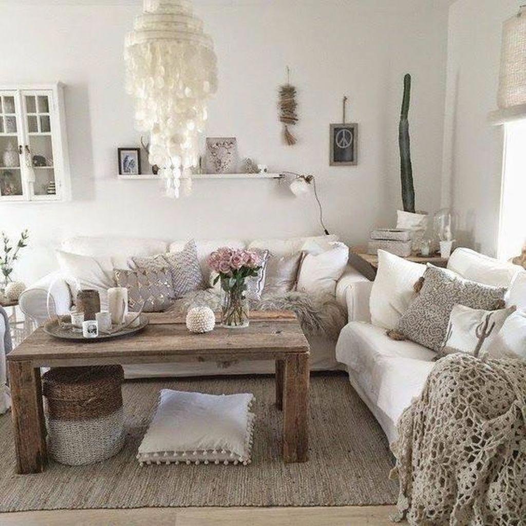 Room Decor Boho Chic - 39 Modern Chic Farmhouse Living ...