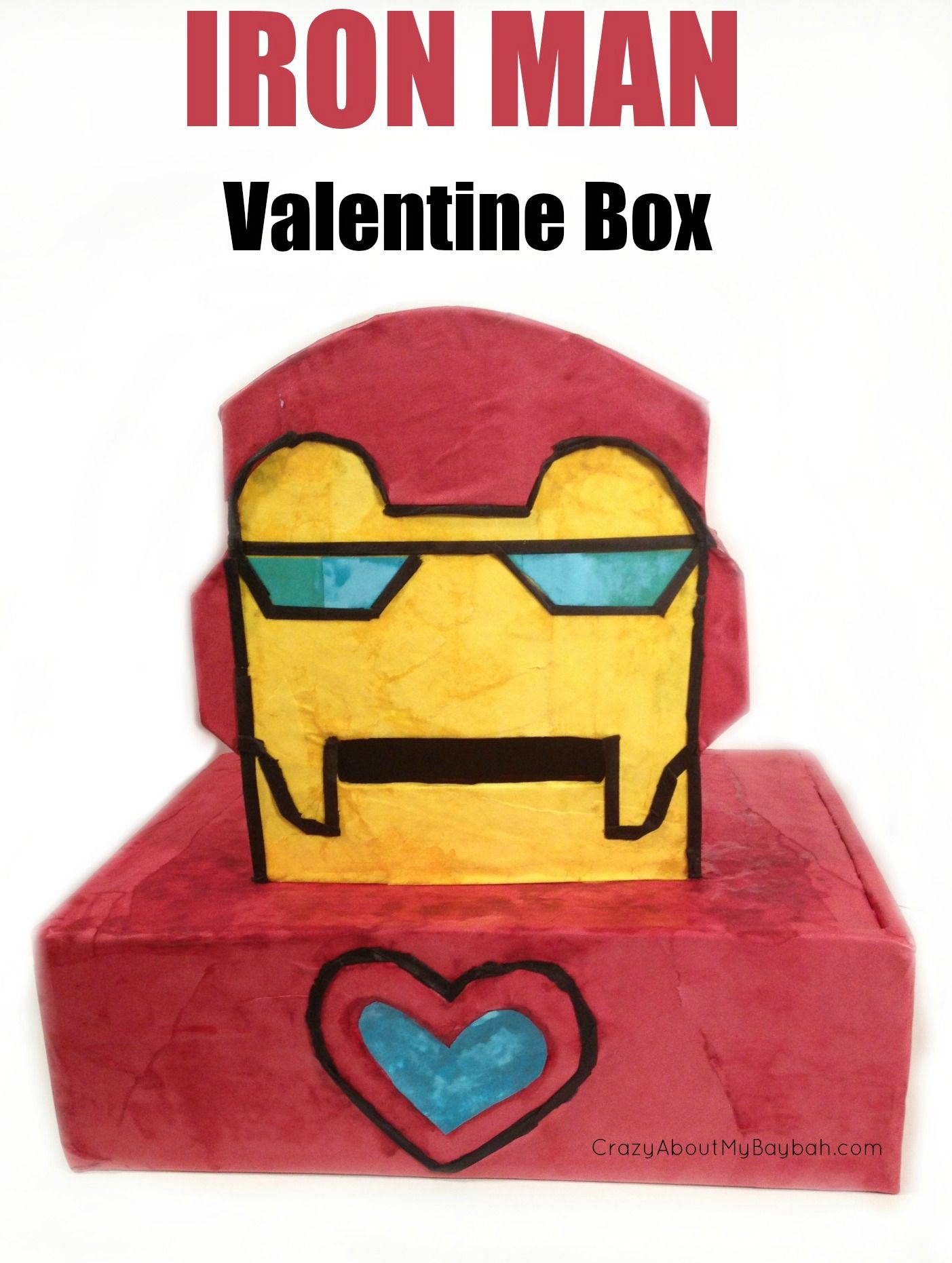 Make Your Own Iron Man Valentine Box | Valentine's Day ...