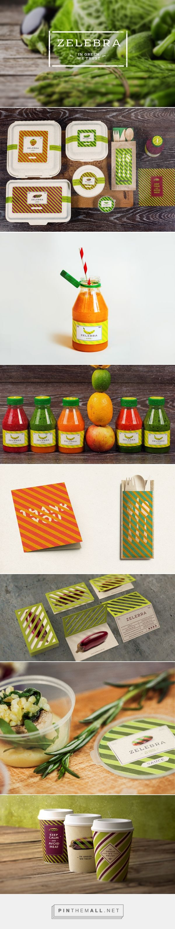 Zelebra Vegan Food & Delivery on Behance curated by Packaging Diva PD. Love this packaging makes me want to go vegan : )