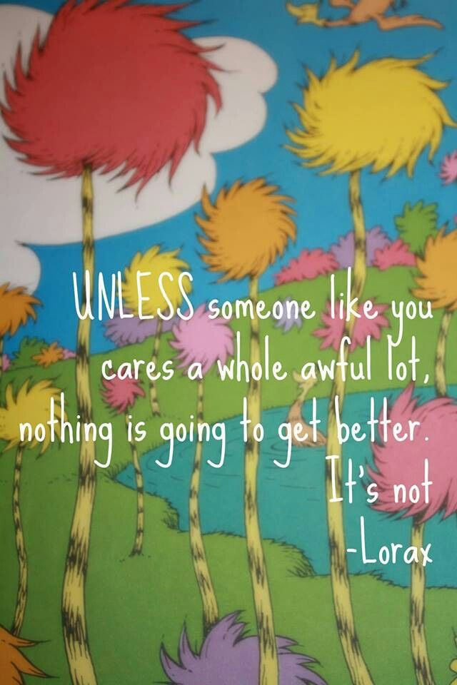 The Lorax | Movie and Television quotes. | Pinterest