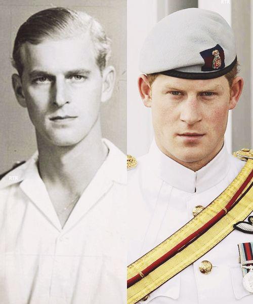 Lookalikes: Prince Philip And Prince Harry