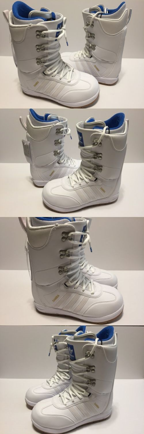 e031c9be7715 Boots 36292  Adidas 2018 Samba Adv (White White Gum) Snowboard Boots Size  8.5 -  BUY IT NOW ONLY   179.99 on eBay!