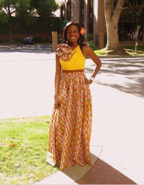 Latest Nigerian Kitenge Designs 2017 Styles4woman Kitenge Designs Fashion African Print Dresses