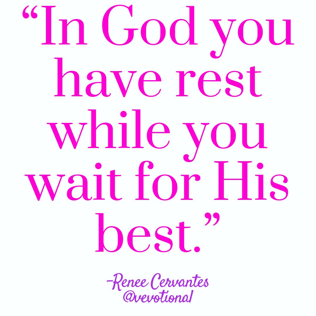 Image result for REST WHILE WAITING on God