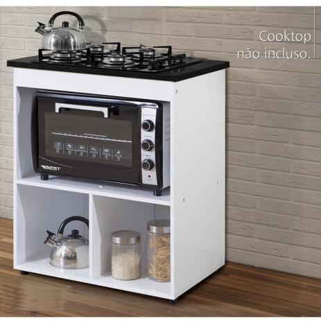Balcao Cooktop 1 Porta Salvia Branco Kaiki Moveis Kaiki Moveis Com Imagens Cooktop E Forno Balcao Para Fogao Cooktop Projetos De Cozinhas Pequenas