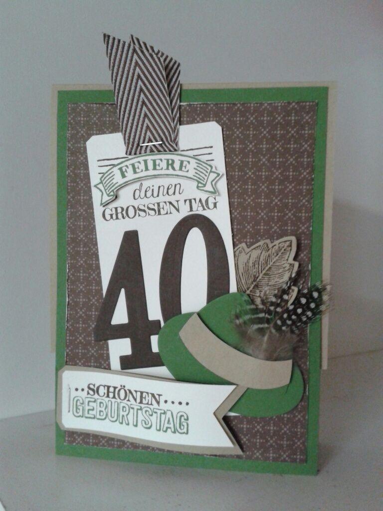 Karte Zum Manner Geburtstag Fur Einen Jager Geburtstagskarten