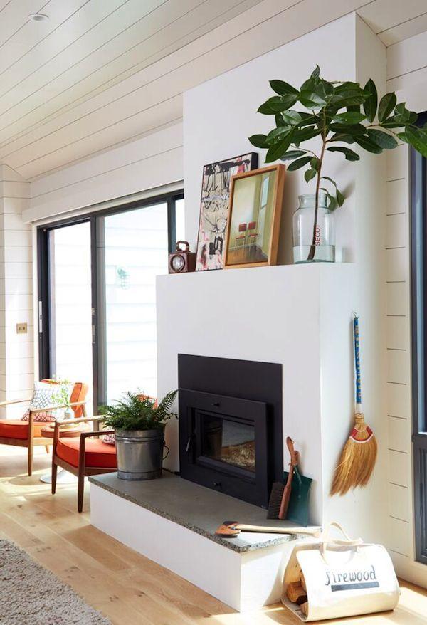 Mantel Decorating Tips And Ideas Modern Fireplace Decor Farm