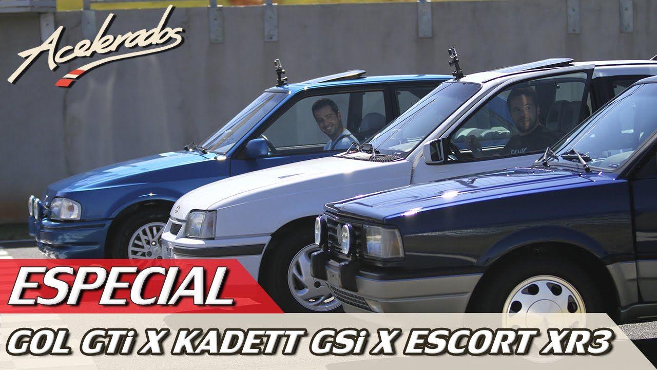 DESAFIO GOL GTi X KADETT GSi X ESCORT XR3 - ESPECIAL #3 | ACELERADOS