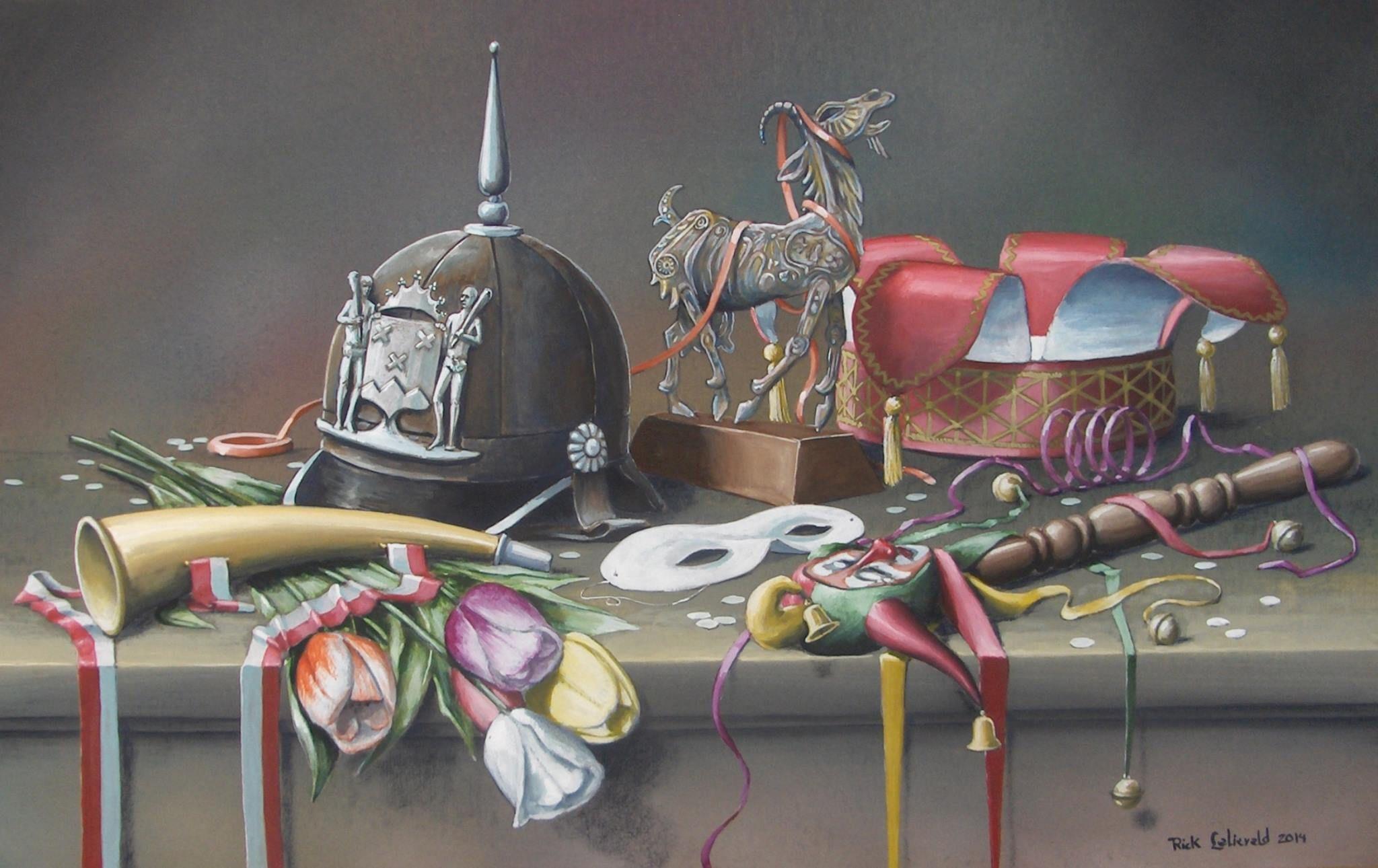 Rick Lelieveld 32 Abstracte Schilderijen Bergen Abstract