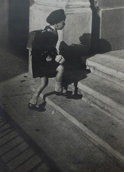 Kezdodik a Tanitas (School Starts) by Karoly Escher, 1931.