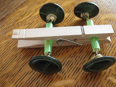Making own simple machines and vehicles
