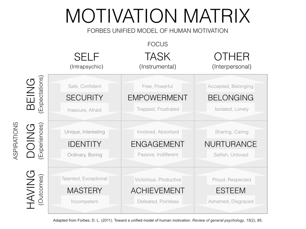 Motivation Matrix  Account Planning