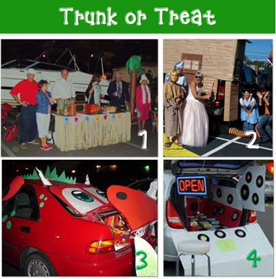 trunk or treat i just heard about this idea of decorating your trunk and the