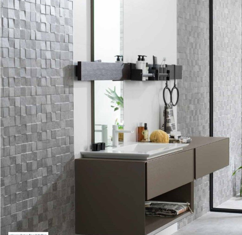 Porcelanosa Rodano Silver Mosaico Google Search Home