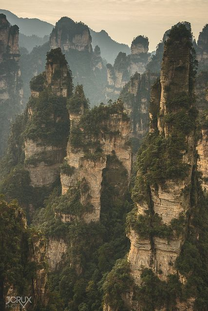 Wulingyuan karst   Flickr - Photo Sharing!