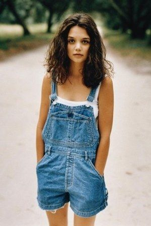 Vintage Katie Holmes as Joey in Dawson's Creek.