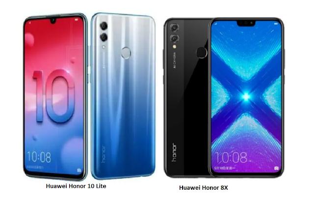 Tspn1 Huawei Honor 8x Vs Huawei Honor 10 Lite Comparisons スマホ