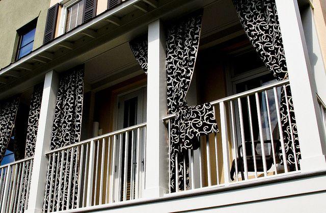Balcony Curtains | Balcony curtains, Balcony, Outdoor balcony