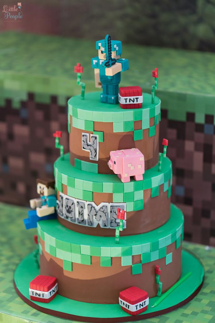 Excellent Jaimes Minecraft Birthday Party 20 Best Ideas Minecraft Birthday Funny Birthday Cards Online Elaedamsfinfo