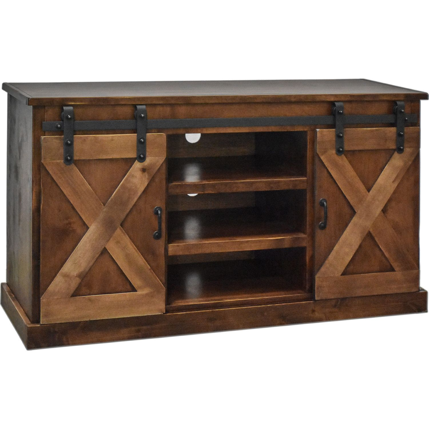 Legends Farmhouse 56 Quot Tv Stand Distressed Aged Whiskey