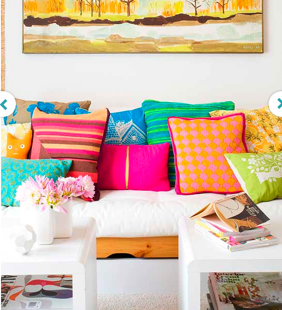 Finding Some Spots Of Bright Color At >> Introducing Bright Colours Will Lift The Energy Look Into Colour