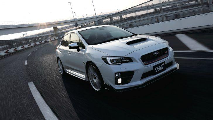 2018 Subaru Wrx White