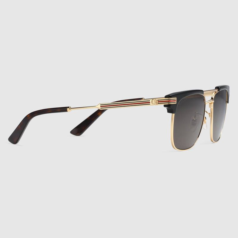 2ca8bd85bfa Shop the Square-frame metal sunglasses by Gucci. null - Sale! Up to 75%  OFF! Shop at Stylizio for women s and men s designer handbags