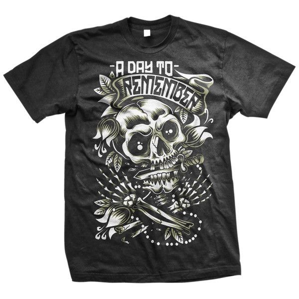 A Day To Remember: Death Skull T-Shirt (Black) - Victory Merch