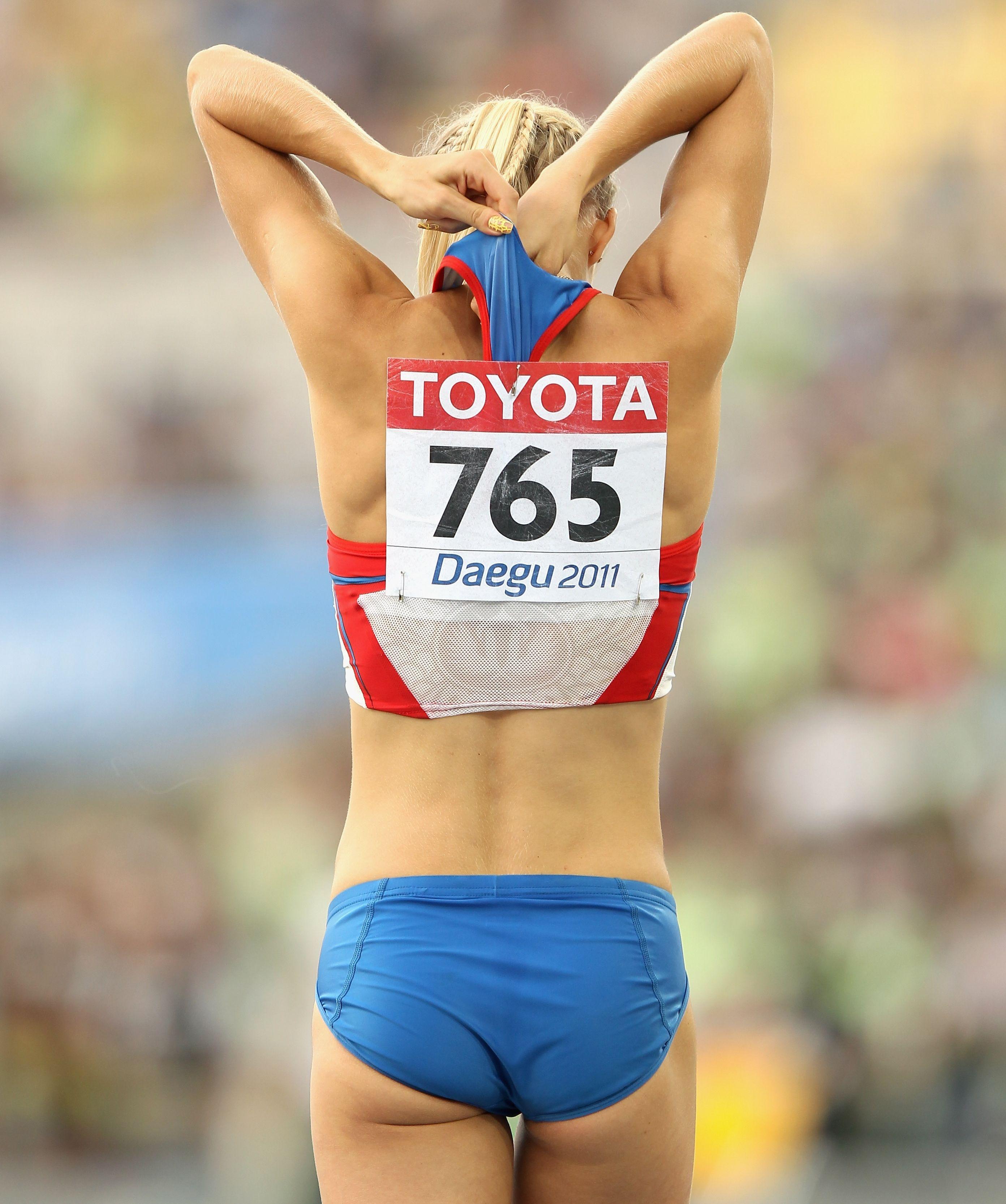 Ебля спортсменок легкой атлетики — pic 11