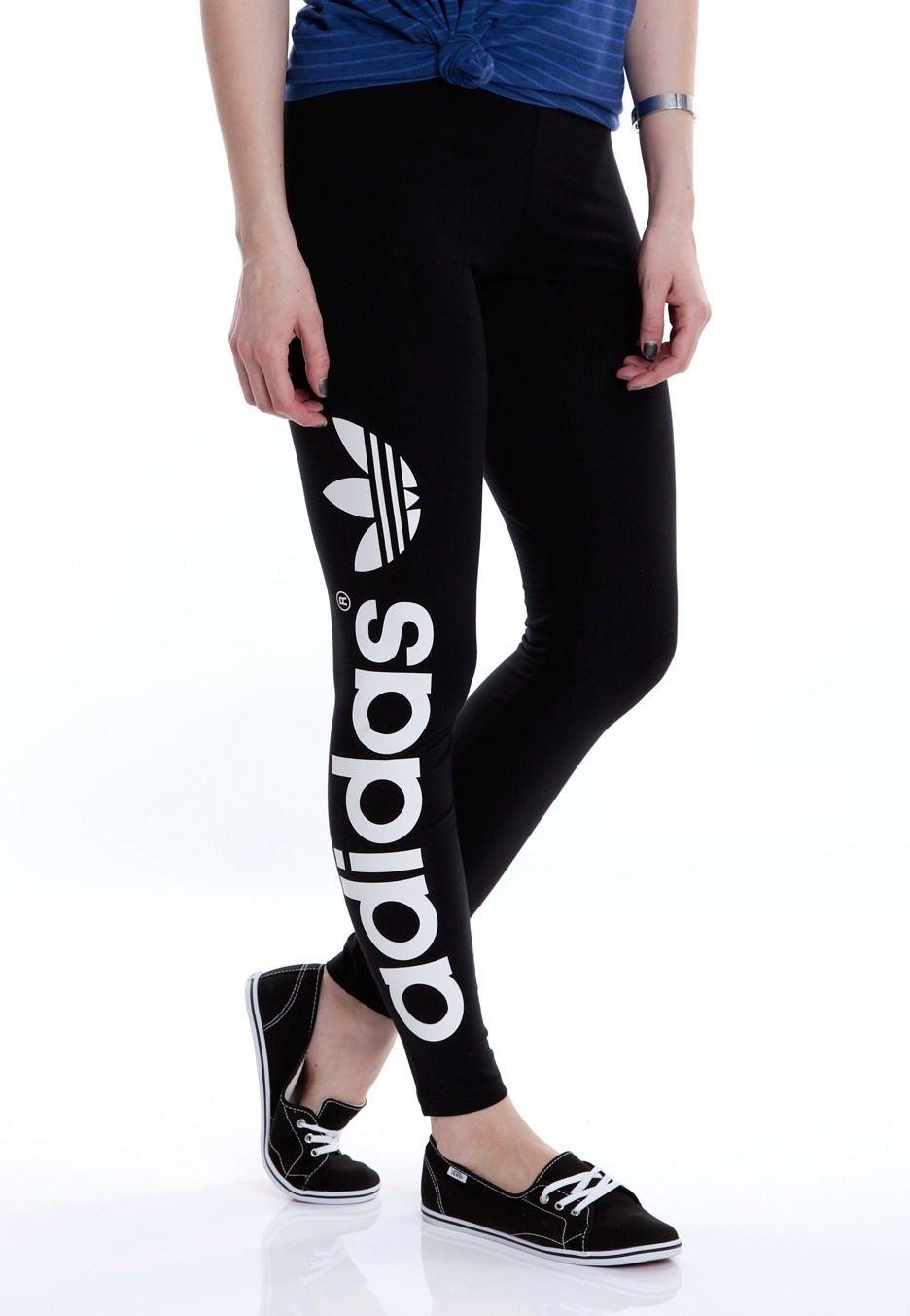 dd73ed24836a0f Adidas leggings   Clothes   Women's fashion leggings, Sneakers ...