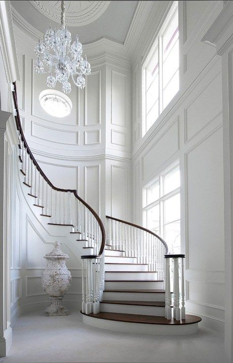 Best Florida Traditional Staircase Staircase Design Curved 640 x 480