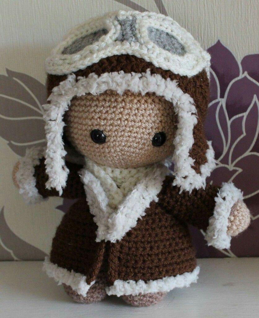 CROCHET - BIG HEAD DOLL - BABYDOLL YO-YO   Crochet dolls, Crochet ...   1024x836