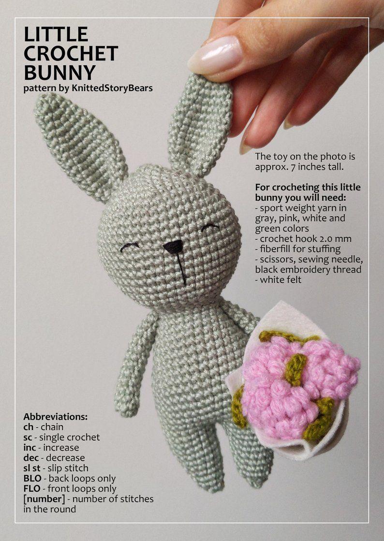 Amigurumi Bunny | HappyBerry | 1119x794
