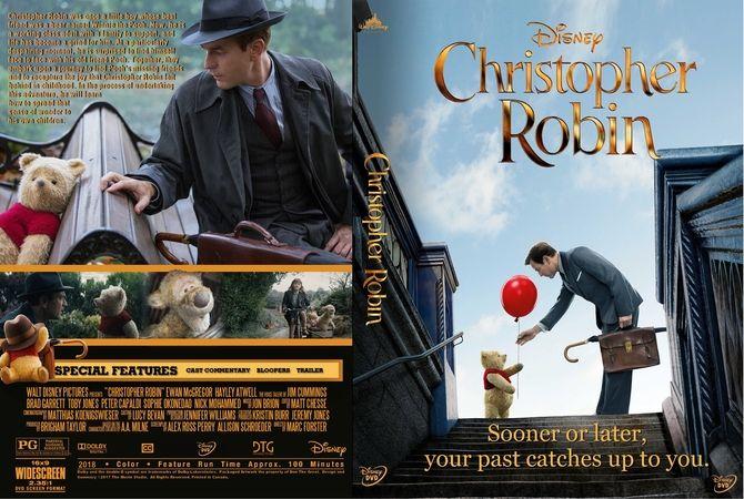Christopher Robin 2018 Dvd Custom Cover Custom Dvd