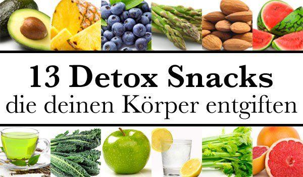 13 detox snacks die deinen k rper entgiften essen und trinken pinterest k rper entgiften. Black Bedroom Furniture Sets. Home Design Ideas