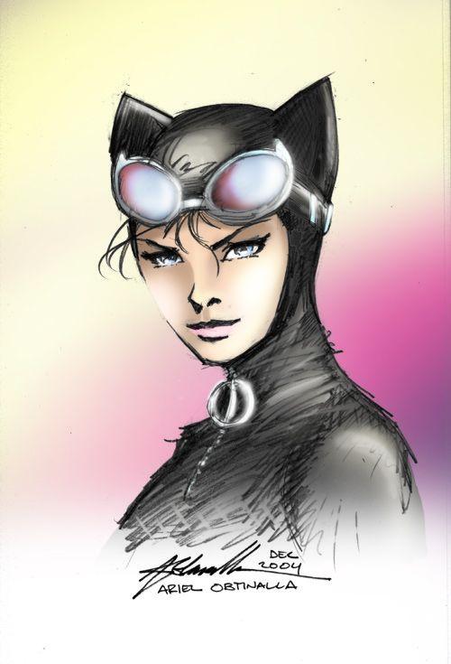 Gemwolf's Catwoman by philipbrown77 on deviantART