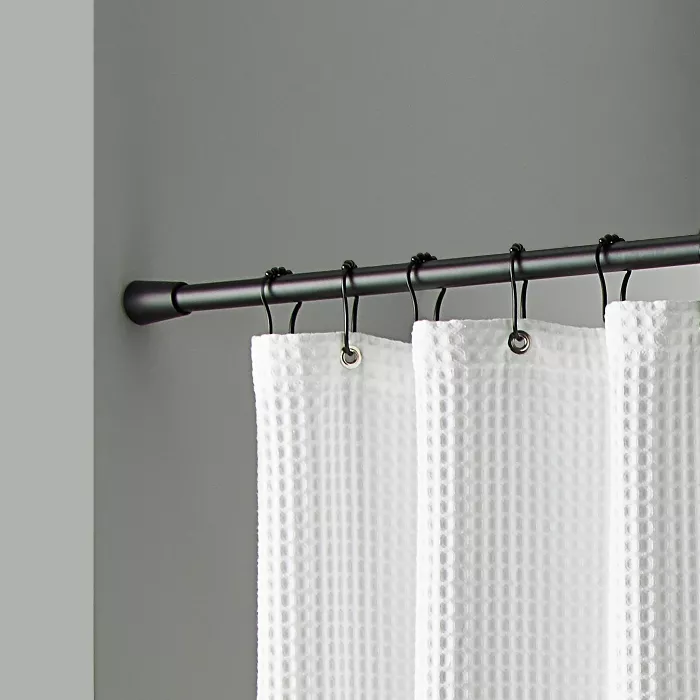 72 rust resistant shower curtain rod