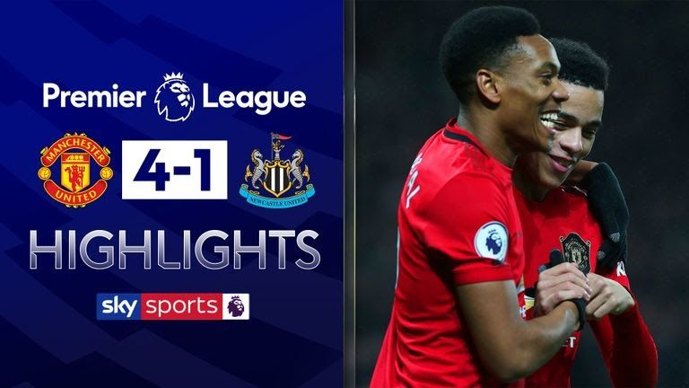 Man Utd 4 1 Newcastle Match Report Highlights Manchester Utd 4 1 Newcastle Epl Highligh In 2020 Manchester United Premier League Manchester United Epl Premier League