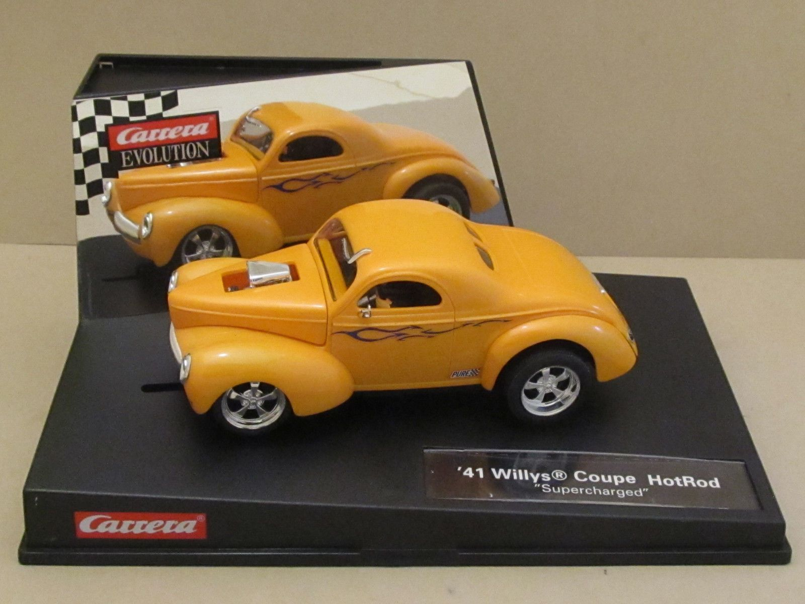 Rare 27224 CARRERA 1941 Willys Coupe Hotrod w/Lights