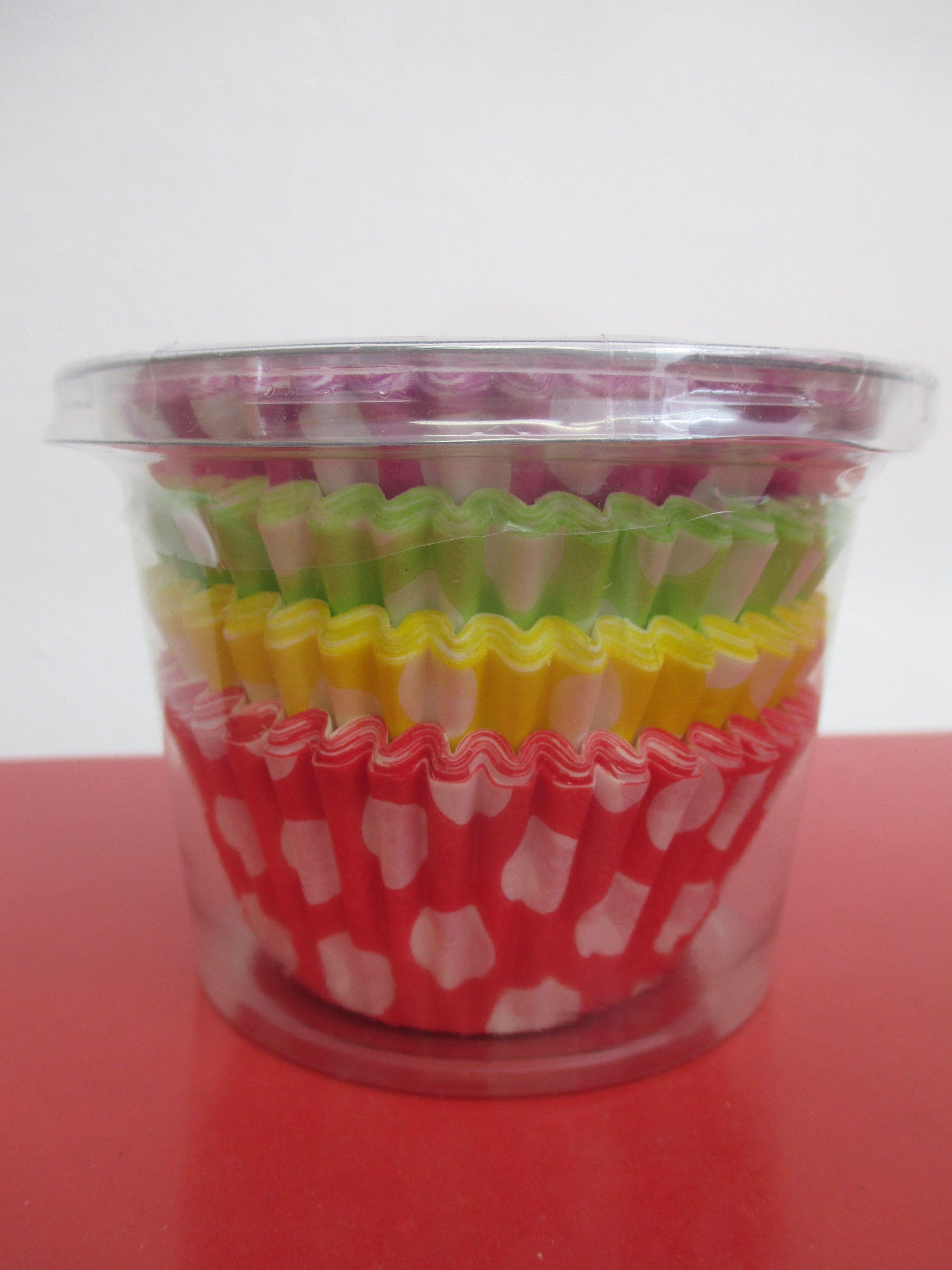 Cupcake cases - 100 / 2,20€