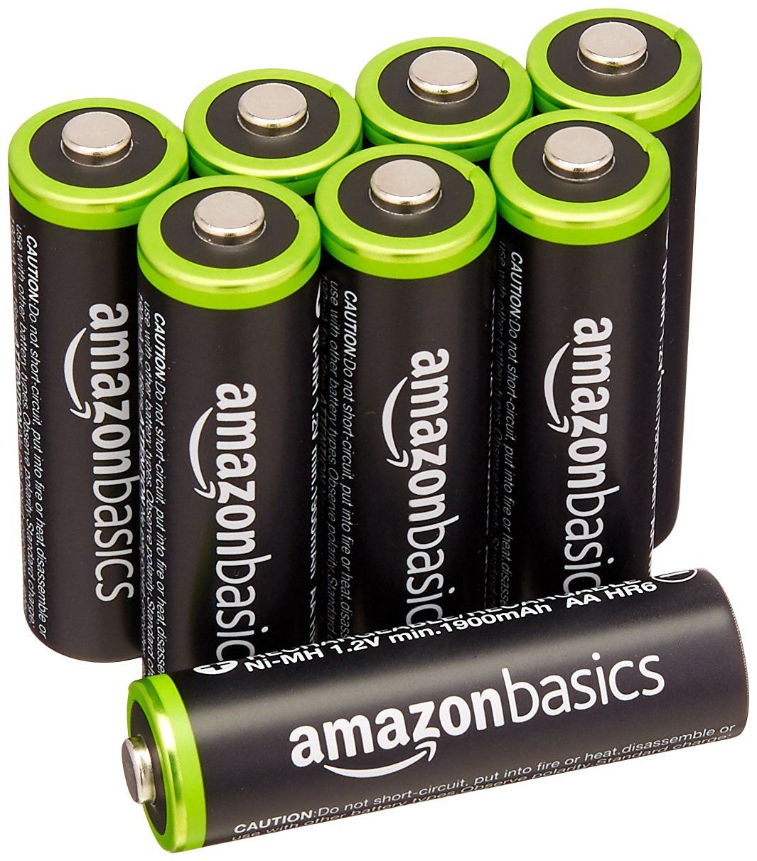 Amazon Com Amazonbasics Aa Rechargeable Batteries 8 Pack Pre Charged Packaging May Vary Home Au Rechargeable Batteries Charge Battery Charger Accessories