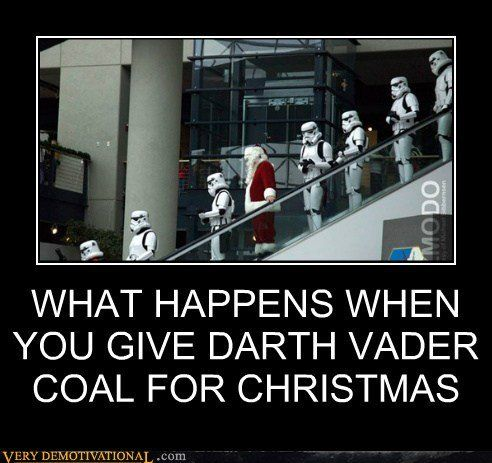 The Dark Side Christmas Memes Funny Christmas Memes Darth Vader Meme