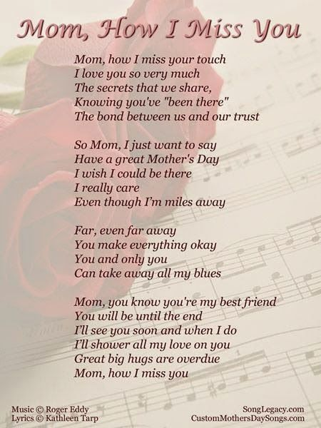 Moms Poems From Son 7