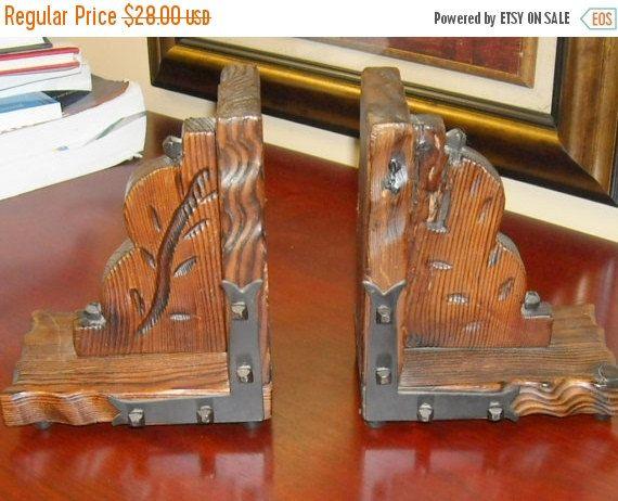 Shop Closing Sale Vintage Retro Wooden Carved by RetroRustics