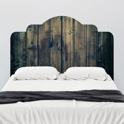 Found it at Wayfair.ca Stained Wood Adhesive Headboard