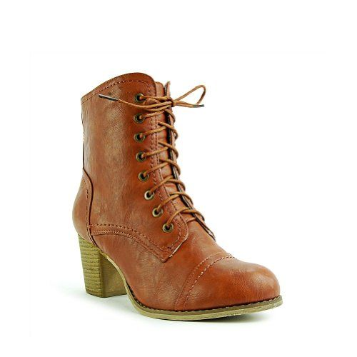 Refresh Ariel Women's Victorian Stacked Chunky Heel Lace up Ankle Boots Size - 8.5 US,Color - CGNC Refresh, BOOTS to buy just click on amazon here http://www.amazon.com/dp/B00AD7KULO/ref=cm_sw_r_pi_dp_wsOpsb1H9ZS1QW3G