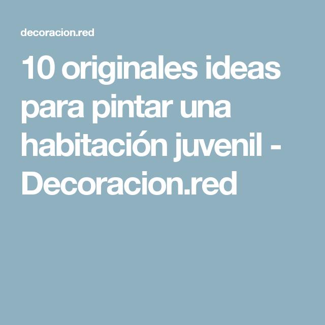 Ideas para pintar juveniles best top pintar habitacion - Ideas para pintar un cuarto juvenil ...